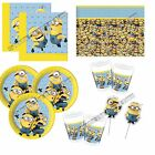 Minions Despicable Me Boys Girls Children Kids Party Tableware Decorations