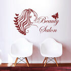 Beauty Salon Wall Decal Hairdress Girl Inspired Quote Barber Shop Room Art Decor