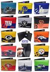NFL,NBA,MLB Team Printed logo Leather Men's Bi-Fold Wallet on eBay