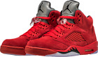 AIR JORDAN RETRO 5 YOUTH 440888-602 OG FIRE RED HUARACHE SUEDE NEW AUTHENTIC V