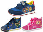 Paw Patrol Toddler Trainers Easy Touch Fastening Sports Shoes First Walkers Size