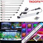 LED AQUARIUM FISH TANK LIGHTS AIR STONE BUBBLE SUBMERSIBLE UNDER WATER MULTI RGB