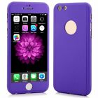 Hybrid Shockproof 360° Silicone TPU Gel Case Cover For  iPhone 6 6s SE