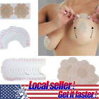 US 5/10/25pc Breast Nipple Cover Pasties Bra Sticker+Instant Breast Lift Support