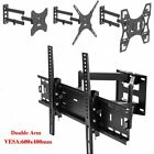 Full Motion TV Wall Mount Articulating 24 32 37 40 46 50 55 60 65 70 LED LCD