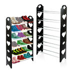 6 Tier Shoe Rack Storage Stand Organiser Cabinet Shelf 18 Pairs Shoes Stackable