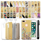 "For Apple iPhone 7 Plus 5.5"" AT&T Sparkling Gold TPU Case Cover Protective + Pen"