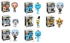 FUNKO POP! RICK AND MORTY WEAPONIZED RICK CHASE MR MEESEEKS CHASE MINT