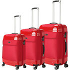 Brio Luggage 3 Piece Hybrid Hardside/Softside Spinner Luggage Set NEW
