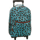 """Rockland Luggage Roadster 17"""" Rolling Backpack 20 Colors"""