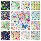 CHILDRENS THEMED FABRICS, PER 1/2 MTR, POLYCOTTON, FREE P&P