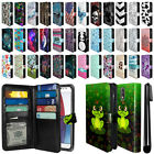 "For Motorola Moto G4/ G4 Plus 5.5"" All-In-One PU Leather Wallet Cover Case + Pen"