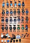 playmobil U CHOOSE POLICE,COPS, weapons,uniform hats,rescue men figures