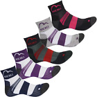 Womens More Mile 5 Pack Endurance Running Sports Socks Size