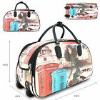 Unisex London Inspired Holdall Cabin Bag Weekend Bag Travel Hand Luggage G1688-2