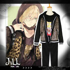 japan anime cosplay YURI on ICE yurio leopard prints track Jacket【J1L1001】