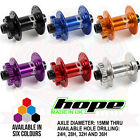 Hope Pro 4 Front Hub 15mm Thru - All Colors and Spoke Hole Counts - Brand New