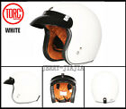 TORC T50 Open Face Motorcycle Helmet ABS DOT Shell Vintage Harlley Helmets BNWT