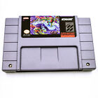 Nintendo  Mega Man Zelda Mario version video game Memory card for Super NES SNES