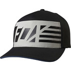 New Fox Racing Mens Black Red, White, and True Flexfit Hat
