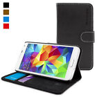 Snugg Samsung Galaxy S5 TPU Shell Case Bonded Leather Anti Scratch Cover