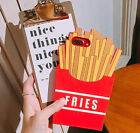 Cute Cartoon Funny Fries Silicone Soft Phone Case Cover Back Skin For iPhone 7 P
