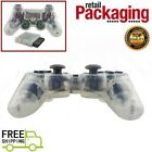 Wireless 2.4GHz Game Controller For PS2  New Transparent Color