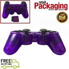 Wireless 2.4GHz Game Controller For PS2  New Transparent Color Free Shipping