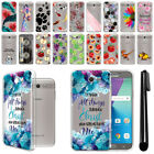 "For Samsung Galaxy J7 2017/ J7V 5.5"" Ultra Thin Clear TPU Case Phone Cover + Pen"