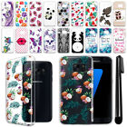 For Samsung Galaxy S7 G930 Ultra Thin Clear TPU Soft Case Phone Cover + Pen