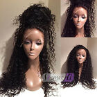 360 Lace Frontal Wigs Pre Plucked 250% Density Brazilian Curly Human Hair Wigs