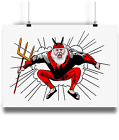 Didi The Devil Illustation Poster print Tour De France cycling gift