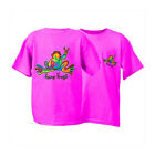 Peace Frogs Youth  Retro Short Sleeve T-Shirt