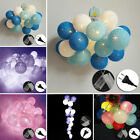 Mixed Colors Cotton Ball Strap String Light Bedroom Wedding Party Club Restauran