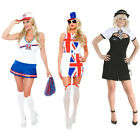 Ladies Womens Fancy Dress HALLOWEEN Outfit Costume Hen Night Party Sexy Dress Up