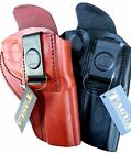 Tagua IWB Leather BLACK BROWN Right Hand REVOLVER Holster - Choose Gun & Color