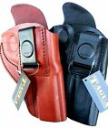 TAGUA Right Hand CCW INSIDE PANTS (Iwb) Leather Holster for REVOLVERS - Choose