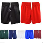 Boys Girls Children Football Shorts School Uniform Sports Stripe PE Shorts Kids