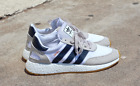 ADIDAS INIKI RUNNER SHOES WHITE NAVY BY9722 US MENS SZ 4-11