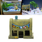 Mountain View Pirate Ship Fish Tank Aquarium Rockery Cave Ornament Decoration