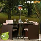 Garden Glow 4KW Table Top Gas Powered Patio Outdoor Party BBQ Fire Heater NEW