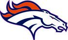 Denver Broncos Vinyl Decal / Sticker 5 sizes!!