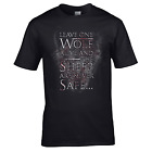 Leave One Wolf Alive and the Sheep are Never Safe T-Shirt - Game of Thrones Top