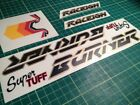 Mk2 Raleigh Burner Style Old School BMX Stickers/Decals *MULTIPLE CHOICE*
