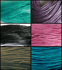 85 Metres of 1mm WAXED COTTON Kumihimo Braiding Macrame Cord - Choice of Colour