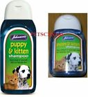 Johnsons Puppy and Kitten Shampoo 125 ml OR 200 ml - Mild for delicate skin g001