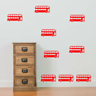 London Bus PACK 9 Old Style Buses Transport New Children Wall Stickers Decals B7