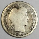 1896-S  Barber Dime Beautiful Coin Rare Date