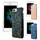 iPhone 7 8 Plus Back case Bling Hybrid Glitter TPU Protective Hard Case Cover