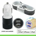 1.5 M Apple MFI Certified iPhone 7 / 6 / 6+ / 5 / 5S data cable and car charger